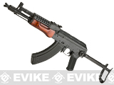 LCT Airsoft MG-MS NV Full Metal Airsoft AEG with Real Wood Furniture and Underfolding Stock