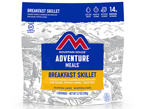 Mountain House Freeze Dried Camping Food (Menu: Breakfast Skillet)
