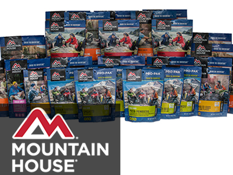 Mountain House Freeze Dried Camping Food (Menu: Vanilla Ice Cream Sandwich / Dessert)