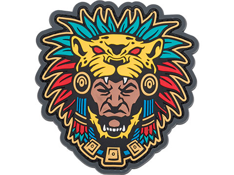 Mil-Spec Monkey Aztec Warrior Head 1 PVC Morale Patch
