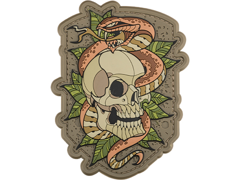 Mil-Spec Monkey Skull Snake 2 PVC Morale Patch