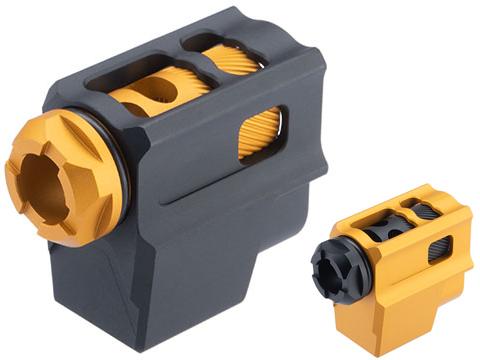 MITA CNC Aluminum Pistol Compensator for 14mm CCW Threaded Barrel