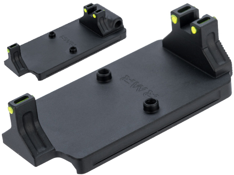 MITA RMR Mount Base for Elite Force / UMAREX GLOCK, ISSC M22, SAI BLU, Lonewolf, & Compatible Airsoft Gas Blowback Pistols