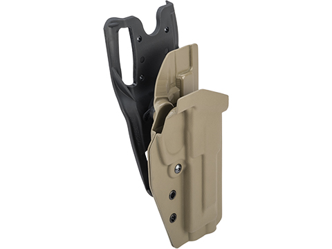 MC Kydex Airsoft Elite Series Pistol Holster for M9 (Model: Flat Dark Earth / Duty Drop / Right Hand)