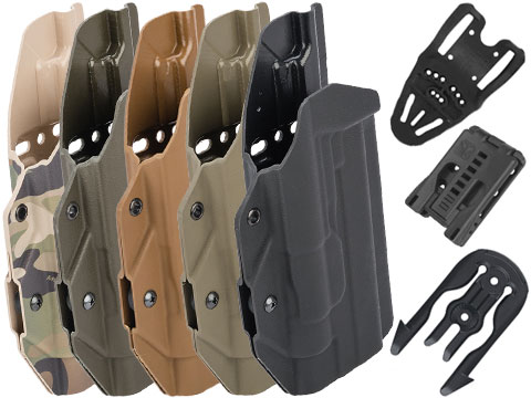 MC Kydex Airsoft Elite Series Pistol Holster for 1911 w/ TLR-1 Flashlight