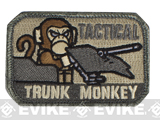 "Mil-Spec Monkey ""Tactical Trunk Monkey"" Velcro Patch - ACU"