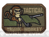 "Mil-Spec Monkey ""Tactical Trunk Monkey"" Velcro Patch - Forest"