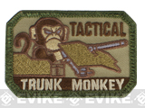 "Mil-Spec Monkey ""Tactical Trunk Monkey"" Velcro Patch - Multicam"
