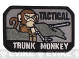 Mil-Spec Monkey Tactical Trunk Monkey Hook and Loop Patch (Color: SWAT)