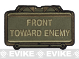 "Mil-Spec Monkey ""Front Toward Enemy"" Velcro Patch - Forest"