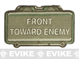 "Mil-Spec Monkey ""Front Toward Enemy"" Velcro Patch - Multicam"
