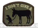 "Mil-Spec Monkey ""I Don't Give A Rat's Ass"" Velcro Patch - Forest"