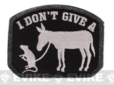"Mil-Spec Monkey ""I Don't Give A Rat's Ass"" Velcro Patch - SWAT"