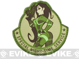 "Mil-Spec Monkey ""Special Night"" Velcro Patch - Arid"