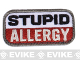 "Mil-Spec Monkey ""Stupid Allergy"" Velcro Patch - Medical"