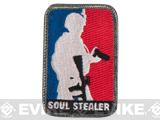 Mil-Spec Monkey Soul Stealer Hook and Loop Patch - Full Color