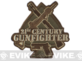 "Mil-Spec Monkey ""21st Century Gunfighter"" Velcro Patch - Multicam"