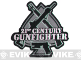"Mil-Spec Monkey ""21st Century Gunfighter"" Velcro Patch - SWAT"
