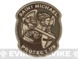 Mil-Spec Monkey Saint-M Modern Hook and Loop Patch (Color: Multicam)