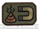 Mil-Spec Monkey Sh*t Magnet Velcro Patch - Forest