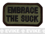Mil-Spec Monkey Embrace the Suck Embroidered Morale Patch (Color: Forest)