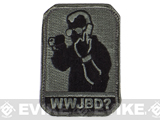 "Mil-Spec Monkey ""WWJBD?"" Velcro Patch - ACU"