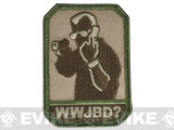 "Mil-Spec Monkey ""WWJBD?"" Velcro Patch - Arid"