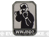 "Mil-Spec Monkey ""WWJBD?"" Velcro Patch - SWAT"