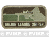 Mil-Spec Monkey Major League Sniper Hook and Loop Patch - Arid