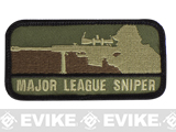 Mil-Spec Monkey Major League Sniper Hook and Loop Patch (Color: Forest)