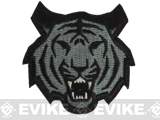 "Mil-Spec Monkey ""Tiger Head"" Velcro Patch - ACU"