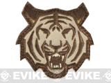 "Mil-Spec Monkey ""Tiger Head"" Velcro Patch - Arid"