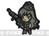 "Mil-Spec Monkey ""Gun Girl1"" Velcro Patch - ACU"