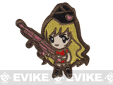 "Mil-Spec Monkey ""Gun Girl1"" Velcro Patch - Subdued"