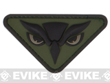 "Mil-Spec Monkey ""Owl Head"" PVC Velcro Patch - Forest"