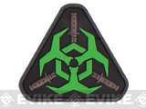 Mil-Spec Monkey Outbreak Response Team PVC Patch - Glow in the Dark