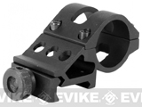AIM Sports 1 Offset Flashlight / Laser Ring Mount w/ QD Weaver Mount