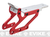 Double Tap Scope Mount Base fro Hi-CAPA Series Airsoft Pistols - Red