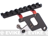 Matrix Graphite Upper Rail Mount for Hi-CAPA Series Airsoft GBB - Red