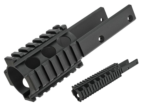 Modelwork Rail System for Kriss Vector Airsoft SMG (Length: 160mm)