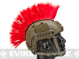 The Tacti-Cool Helmet Mohawk by Matrix - Red
