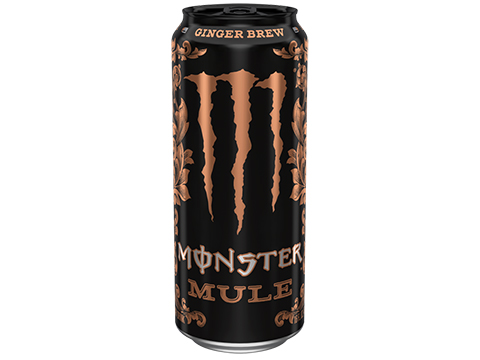 Monster Energy Monster Mule (Flavor: Ginger Brew)