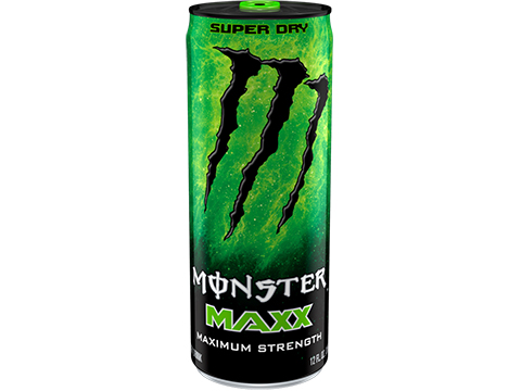 Monster MAXX Energy Drink (Flavor: Super Dry)