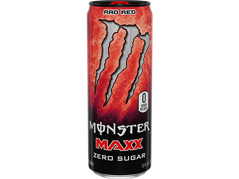 Monster MAXX Energy Drink (Flavor: Rad Red)