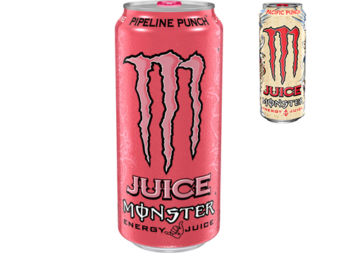Monster Energy Juice Drink (Flavor: Pipeline Punch)