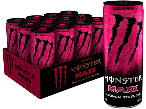 Monster Energy Drink Maxx Maximum Strength (Flavor: Solaris / 1 Can)