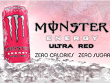 Monster Energy Drink (Flavor: Ultra Red)