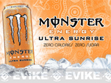 Monster Energy Drink (Flavor: Ultra Sunrise)