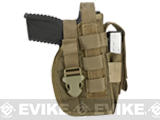 Avengers MOLLE Tactical Pistol Holster (Color: Coyote Brown)