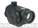 Evike / AIM Sports T1 Red & Green Dot Micro Reflex Scope w/ Weaver Mount - Black